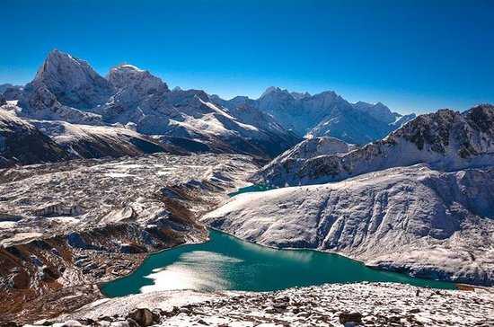 Gokyo Lake Chola passerer Everest...