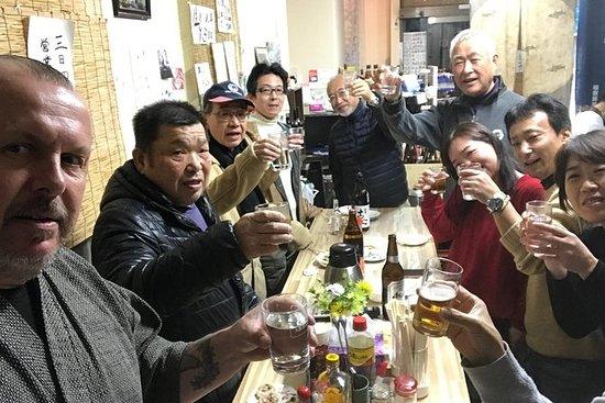 Tour de tiempo del Sake de Osaka