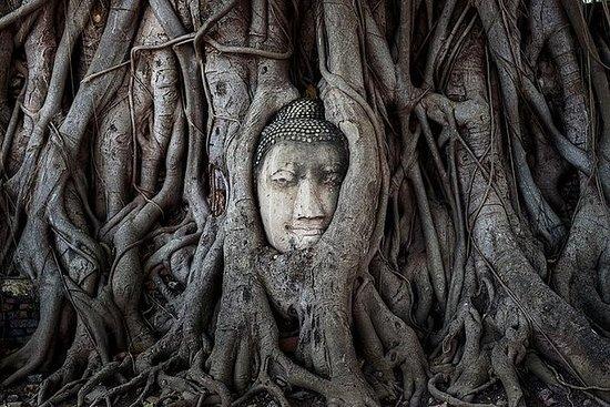 Templos de Ayutthaya y el río Chao...