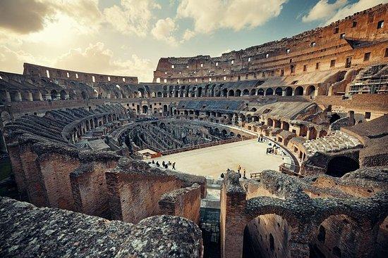 Colosseum og Roman Forum med Hotel...