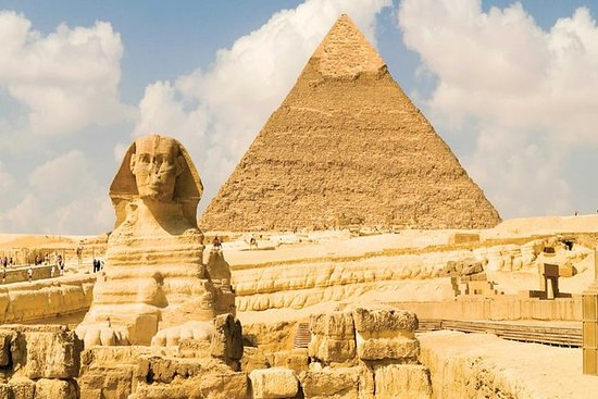 4 timers tur til Giza Great pyramider...