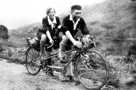 Tandem sykkelutleie på Ile d'Orleans...