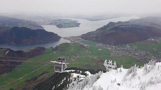 Monte Stanserhorn desde Zürich...