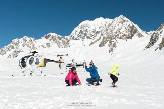 Fox ou Franz Josef Glacier incluindo...
