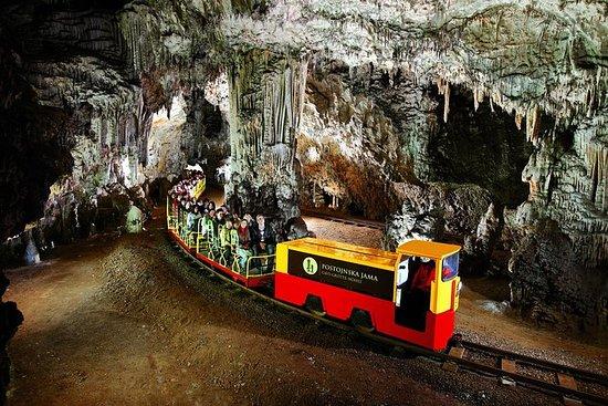 Postojna cave and Ljubljana group...