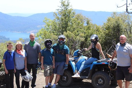 Yosemite guiado en ATV Tour
