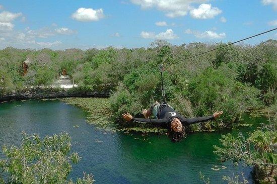 Tulum 4 Cenotes Jungle, tuba...