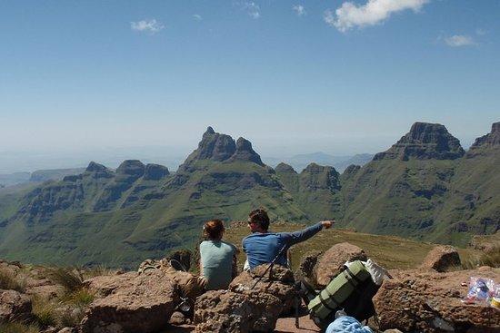 14 days trekking, Drakensberg Grand...