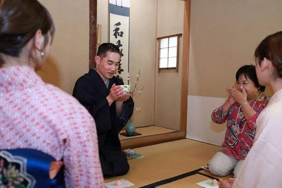 Tea ceremony and Origami Group Lesson