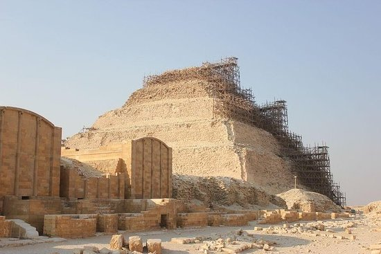 Pyramids and Tombs: Full-Day Tour to...