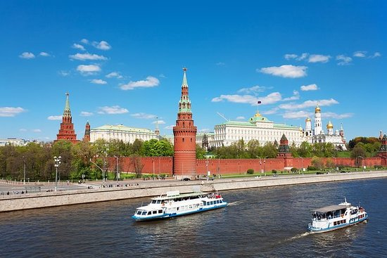 Historical Moscow River Cruise...