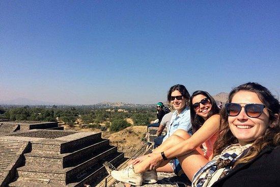 Teotihuacan første gang i morgen