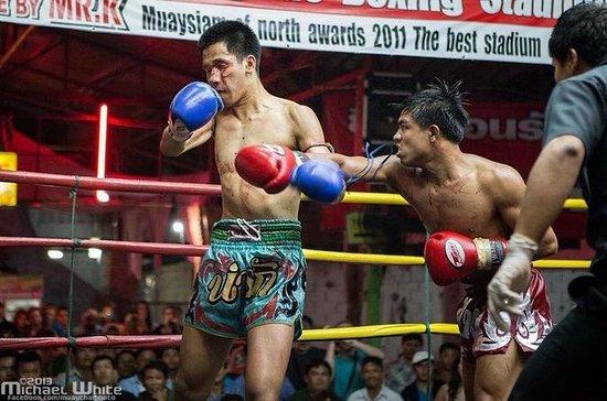 Chiangmai & Thapae Boxing Stadium...