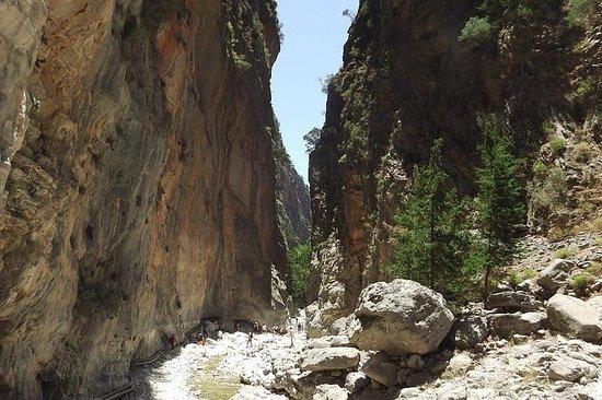 Samaria, o desfiladeiro mais longo da...