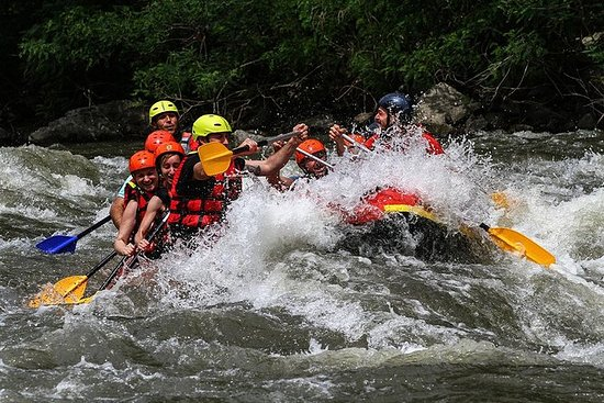 Rafting on Struma River