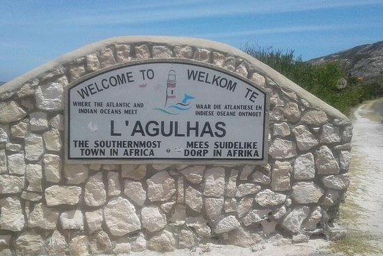 全日Cape Agulhas提示非洲葡萄酒和企鹅从开普敦游览