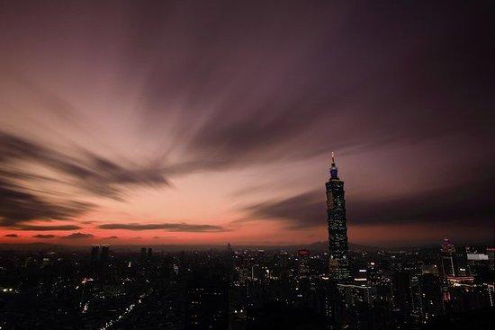 Tour noturno em Taipei