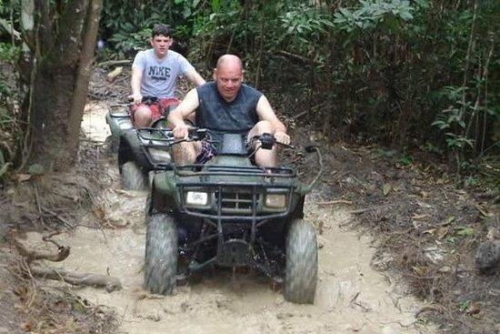 Höhlenrafting und ATV Tour von...