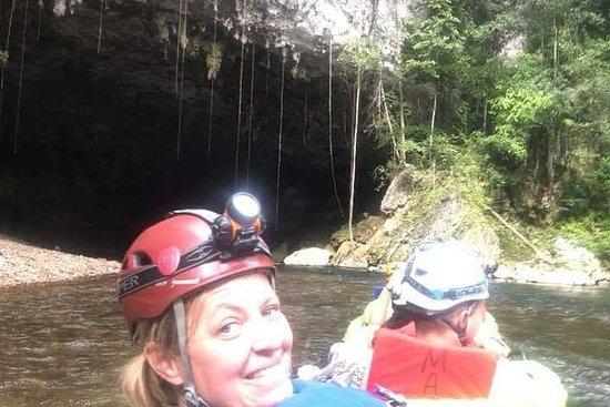 从安伯格里斯岛出发的玛雅遗址,Zipline和Cave Tubing之旅