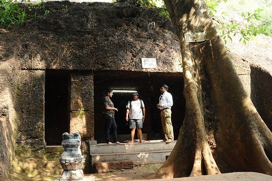 North Goa Caves visit with an...