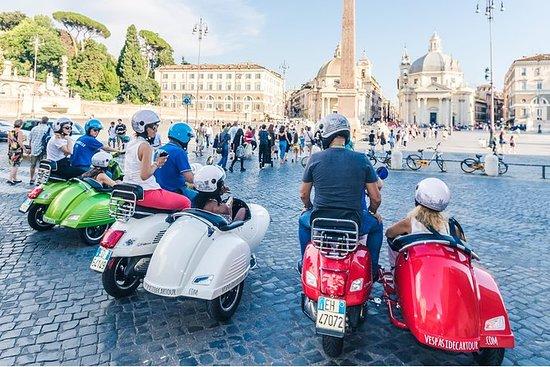 Rom av Vespa Sidecar Tour