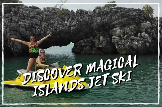 Delt oppdag Magical Islands Jet Ski