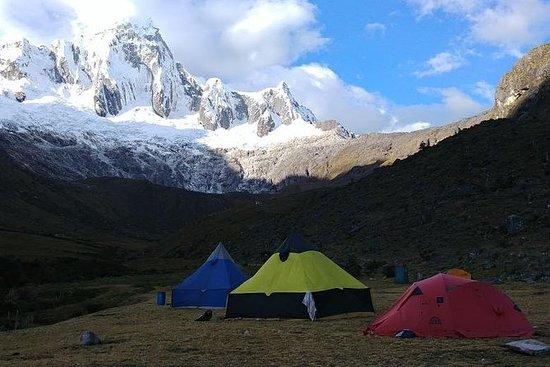 Santa Cruz Llanganuco Trek Cordillera...