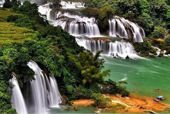 BA BE LAKE - BAN GIOC WATERFALL...