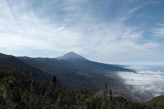 Teide und Süden von Teneriffa