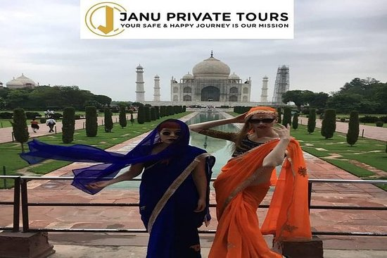 Private Day Trip Taj Mahal da Jaipur