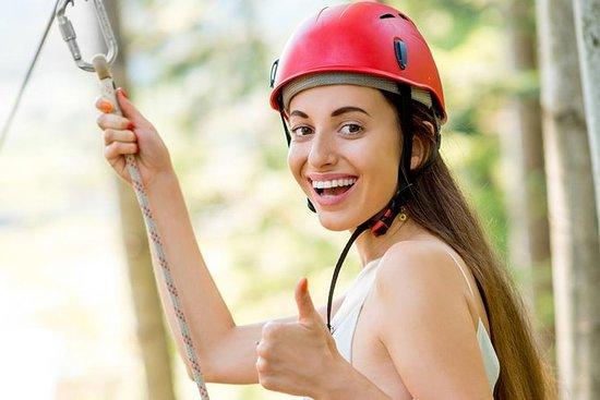 Ziplining in Addo, 18 m hohe Schaukel...
