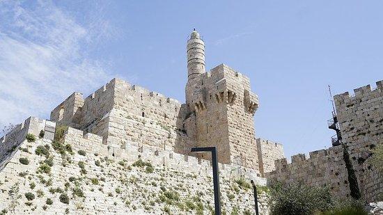 Davids by og Hellige Jerusalem...