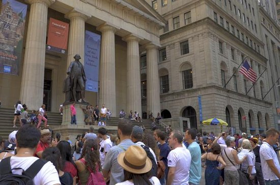 マンハッタンのウォーキング・ウォーク・オン歴史的ウォーキングツアー