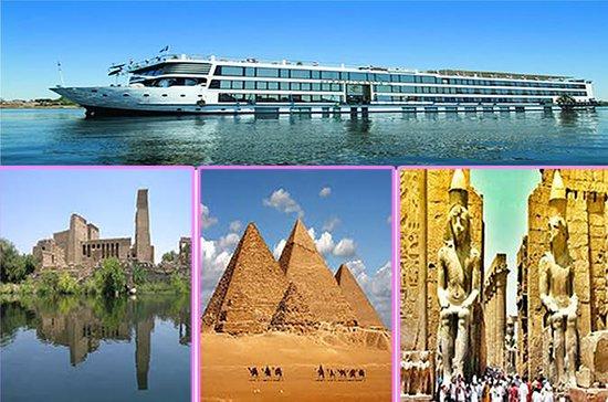 Cairo 2 nights - 3 Nights Nile Cruise