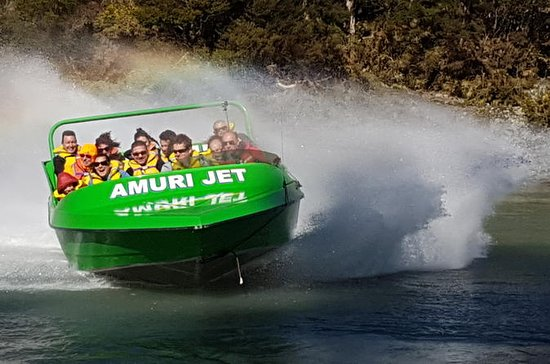Amuri Adventure Jet Boating in Hanmer...