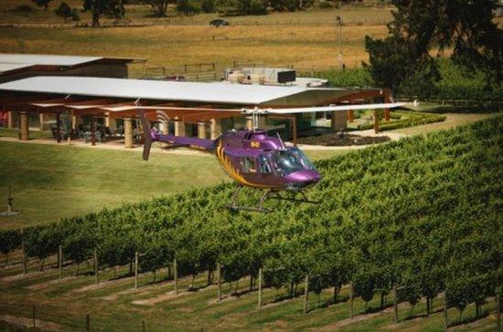 Home Hill Winery Hubschrauberrundfahrt