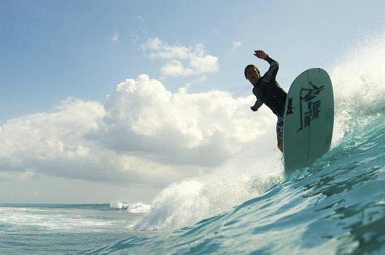 Aulas de Surf Intermediário, com...
