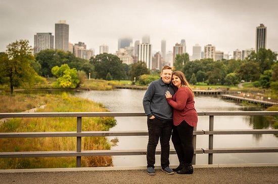 シカゴで60分のローカルフォトグラファーとのプライベートバケーション写真セッ…