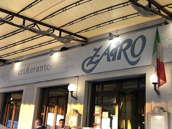 Il Ristorante Zairo : Front of the restaurant