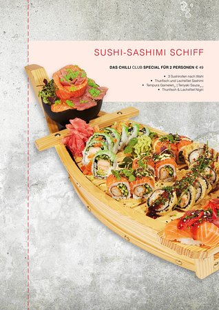 Sushi-Sashimi-Schiff