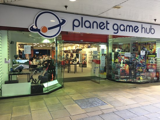Storefront of Planet Game hub - 24 wakefield street, St Georges Centre, Gravesend