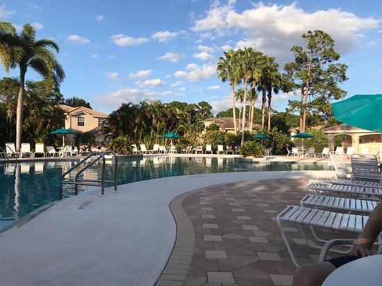 PGA Golf Club in PGA Village - Dye Course: Poolside if you're staying on property