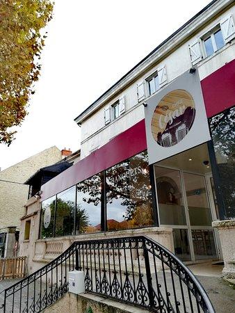Chez Cesar: Devanture du restaurant