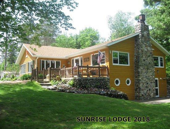 Land O' Lakes, WI: The lodge