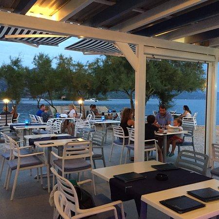 Racisce, Croatia: Atmosfera romantica e rilassante
