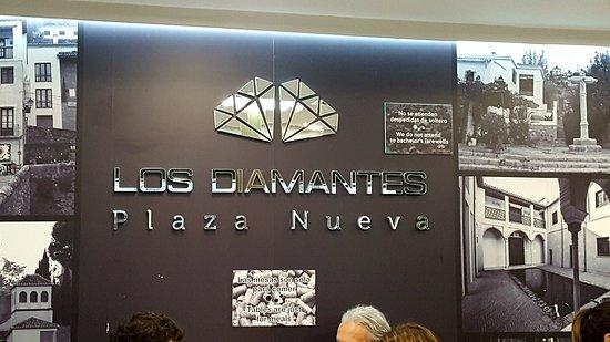 Los Diamantes: foto interior del restaurante