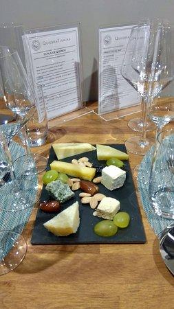 QuiebraTinajas: Una estupenda selección de quesos artesanales