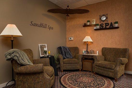 Sandhill Spa Lobby