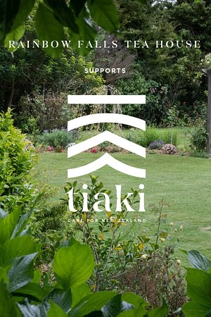 Rainbow Falls Tea House supports the New Zealand Tiaki Promise
