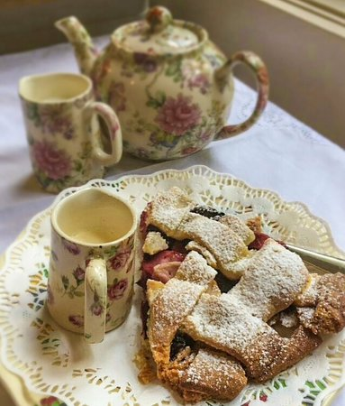 A slice of pie with your pot of tea?
